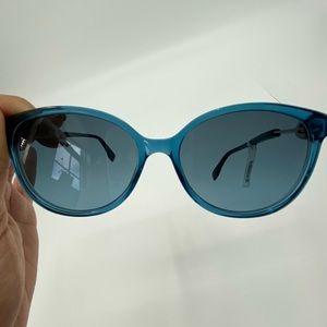Fendi Grey Azure Cat Eye Sunglasses